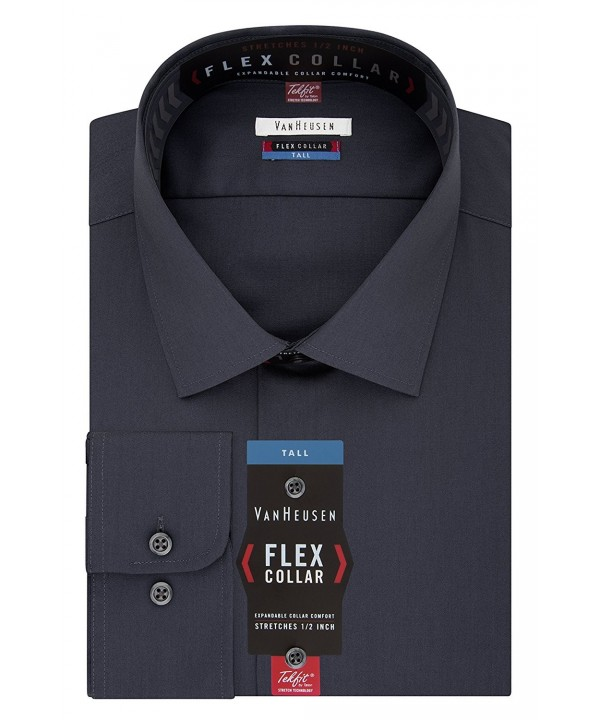 Van Heusen Spread Collar Charcoal