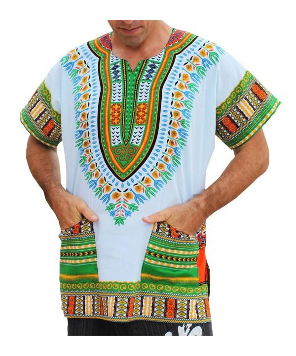 RaanPahMuang Unisex African Dashiki XX Large