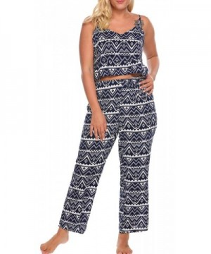 Involand Sleepwear Vintage Casual Pajama
