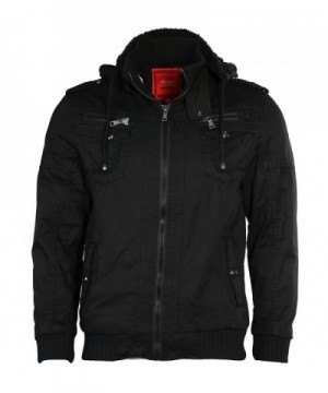 Maximos Sherpa Sahara Hooded Jacket Black Large