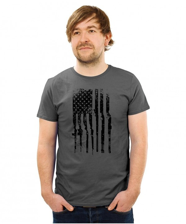 Guerrilla Tees American Republican Charcoal