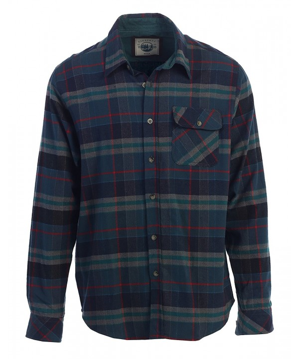 Gioberti Flannel Shirt Highlight Medium