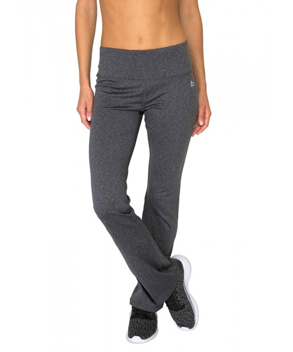 RBX Striated Brushed Bootcut Leggings