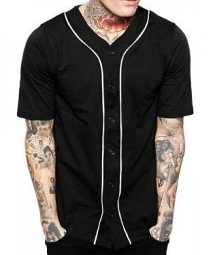 Baseball Button Jersey Hipster Shirts