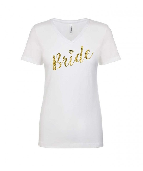 Shirt Womens Sparkly Diamond Wedding