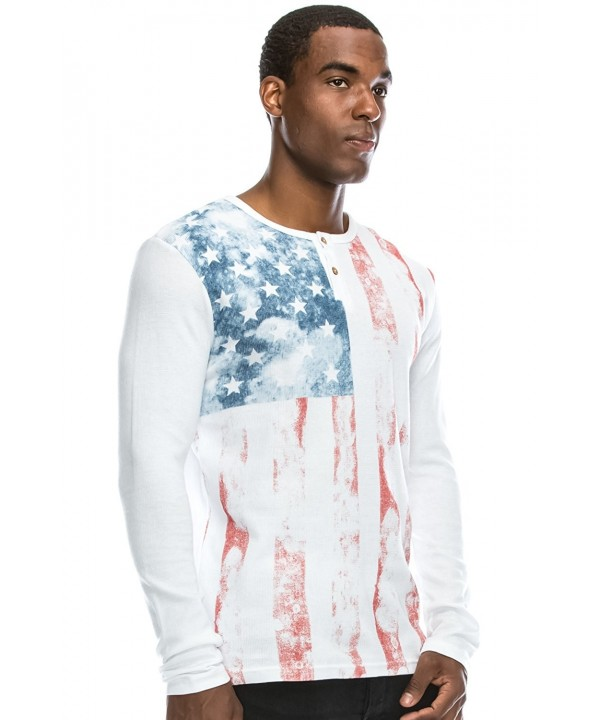 JC DISTRO Hipster American Henley