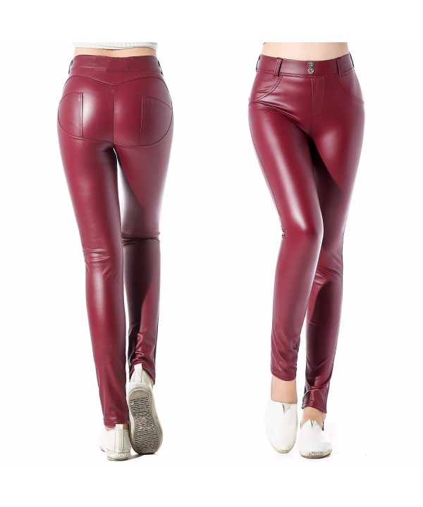 CFR Leather Leggings Stretch Jeggings