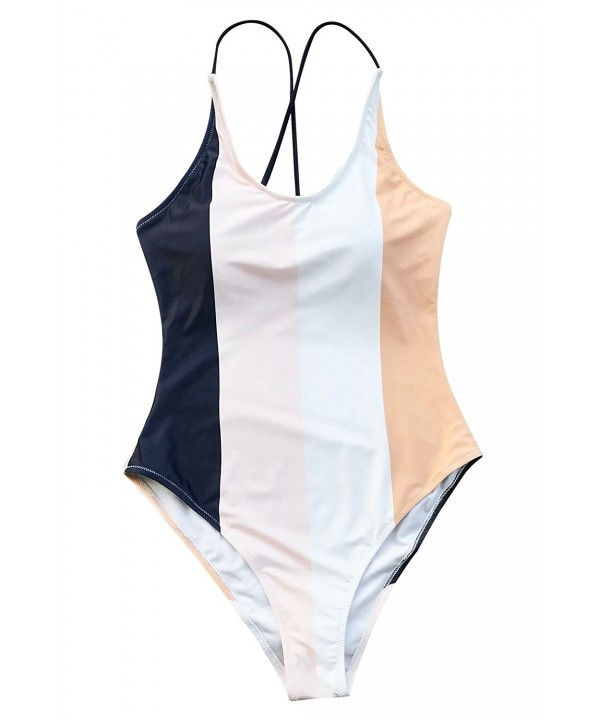 Cupshe Invisible One Piece Swimsuit Swimwear