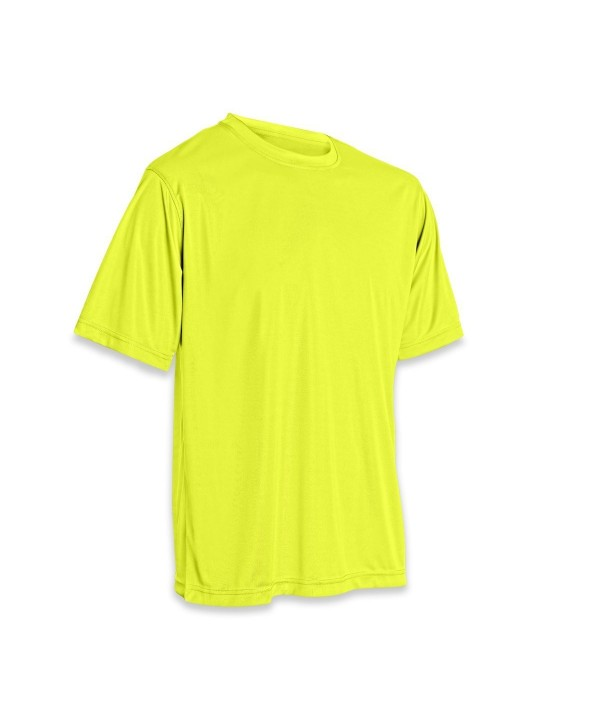 Vizari Performance T Shirt Yellow Large