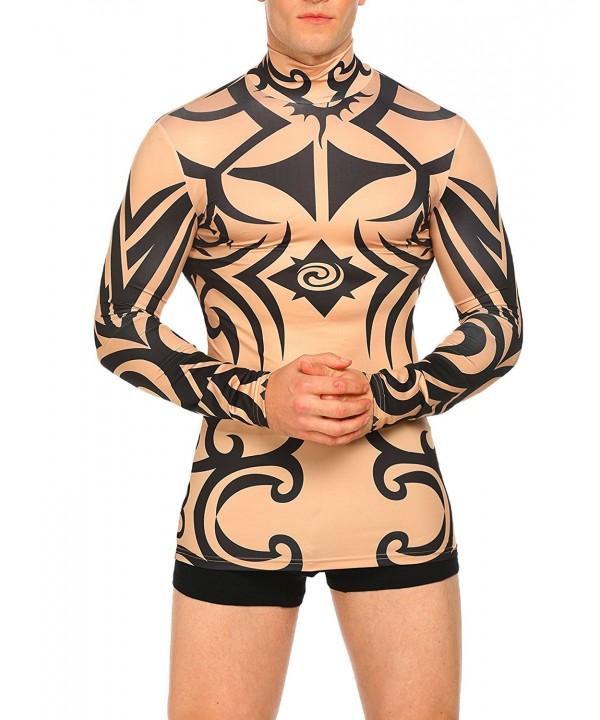 COOFANDY Tattoo Tribal Style Sleeve