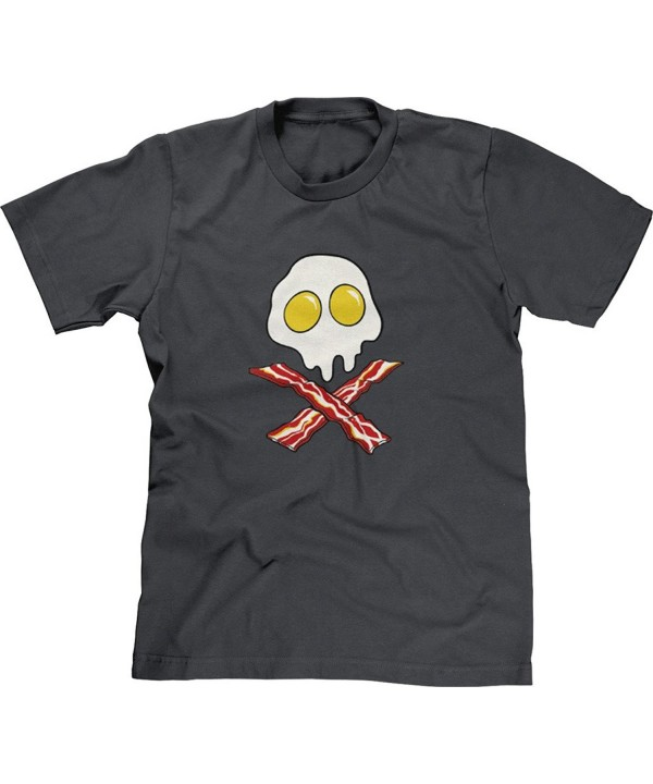 Blittzen Bacon Skull Crossbones Charcoal