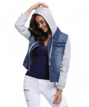 2018 New Women's Denim Jackets Outlet Online