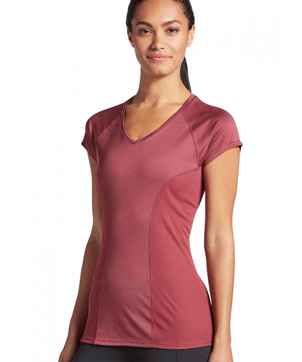 Jockey Womens Activewear Performance Burgundy