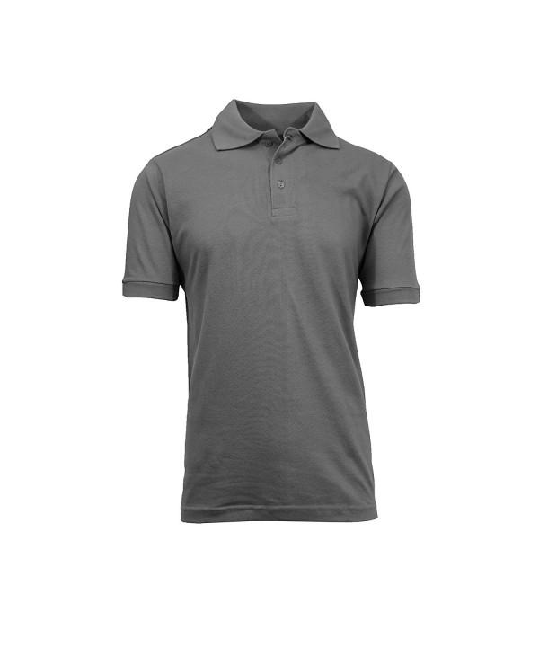 Galaxy Harvic Mens Pique Shirt