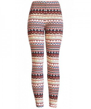 KMystic Printed Brushed Leggings Abstract