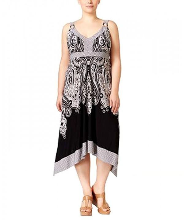 International Concepts Printed Dress Castle