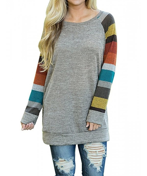 AUSELILY Womens Sweater T Shirts Blouses