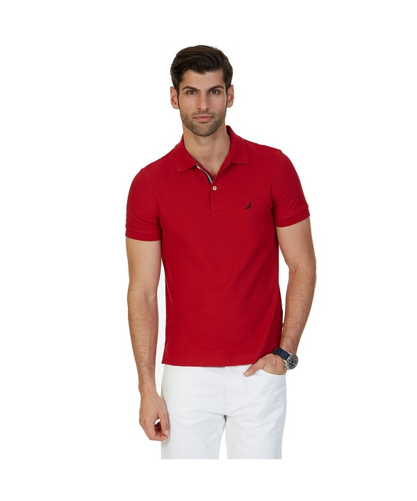 Nautica Short Sleeve Solid Shirt