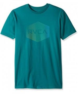 RVCA Mens Halftone Green Small