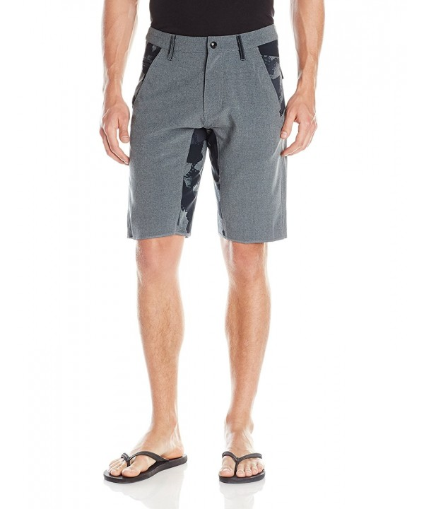 Fox yoked Short Charcoal Heather