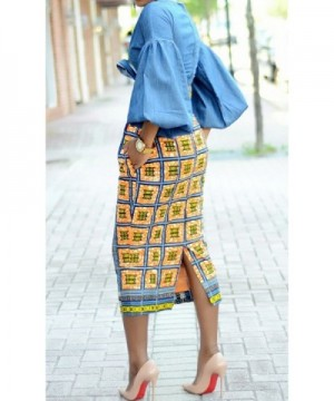cad6e09b9 Sherrylily African Length Skirts Pockets; Brand Original Women's Skirts On  Sale