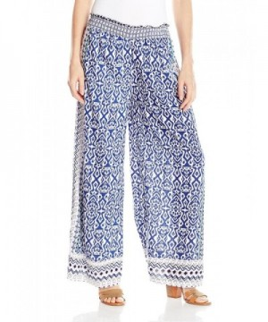 Angie Womens Printed Pants Large