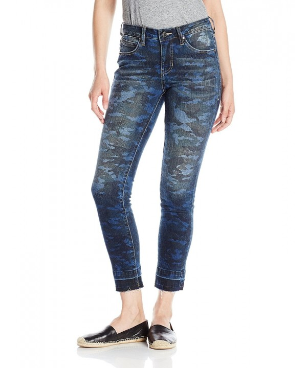 Jag Jeans Womens Rochelle Ankle Camo
