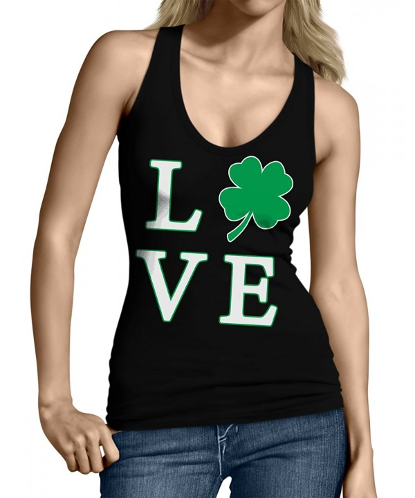 SpiritForged Apparel Clover Juniors Black