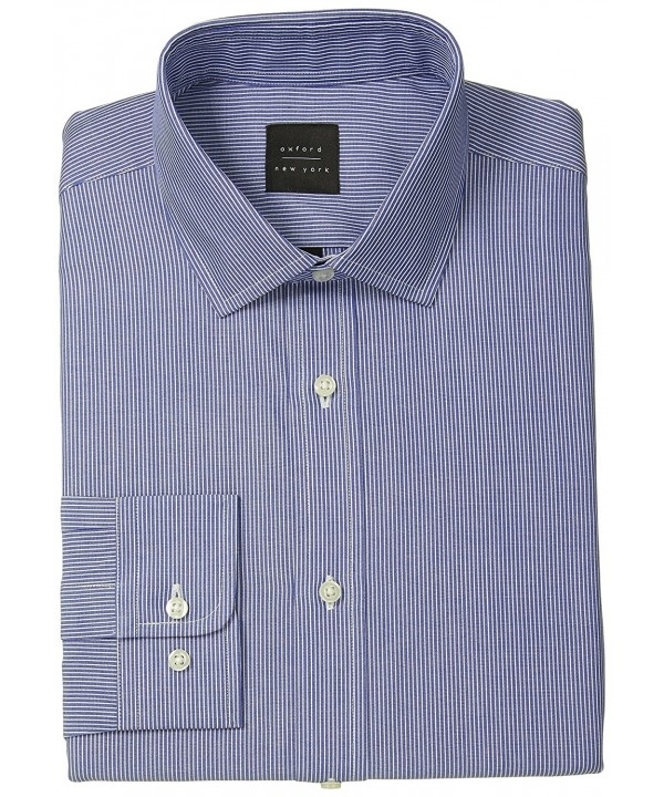 Oxford NY Stripe Spread Collar
