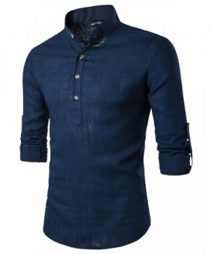 JoJoJoy Casual Henley Roll up Sleeve