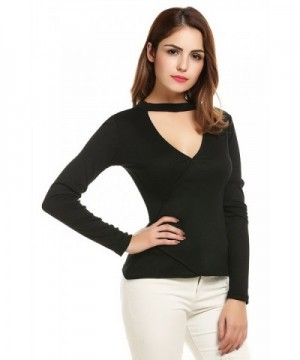 zeagoo Womens Sleeve Cotton Fitted