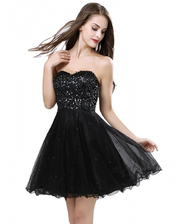 Clearbridal Womens Sparkly Homecoming Dresses