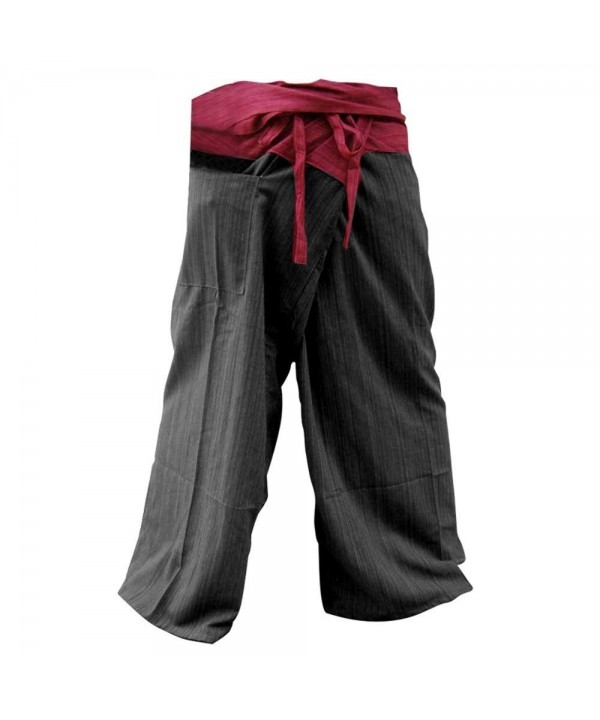 UNISEX Fisherman Pants Trousers Cotton