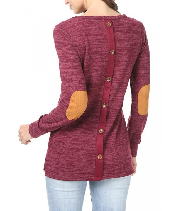 levaca Womens Sleeve Button Shirts