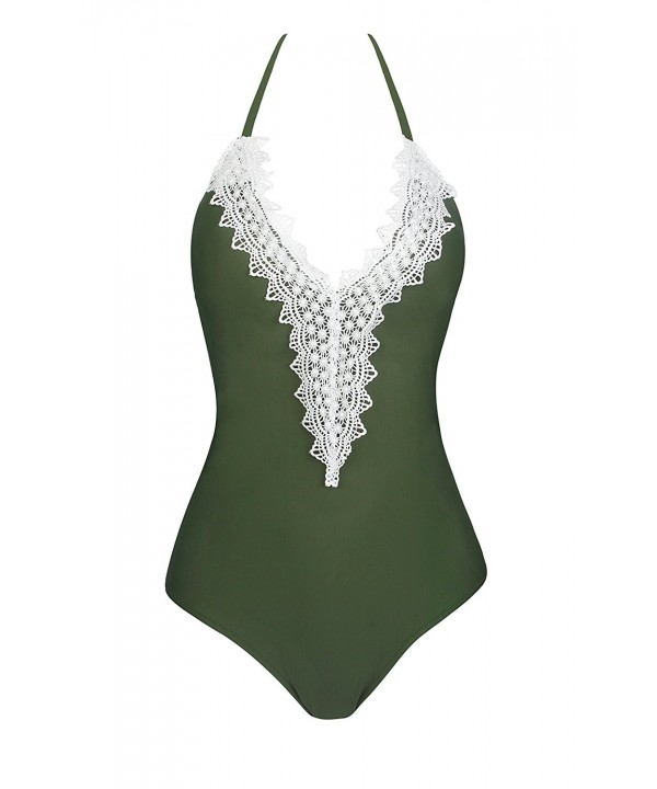 CoolEnding Monokini Swimsuits Backless Swimsuit