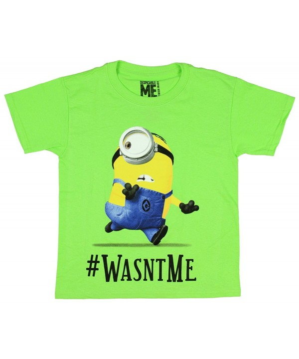 Despicable Me Minions Wasntme Hashtag