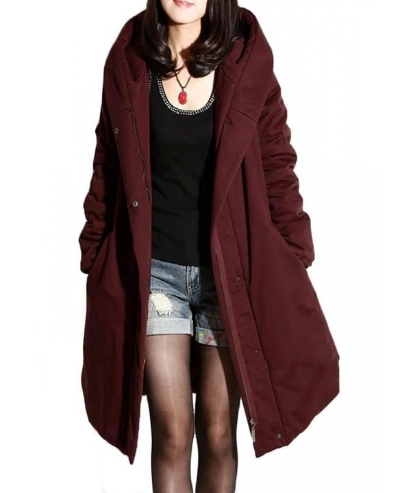 Minibee Womens Winter Outwear Hoodie