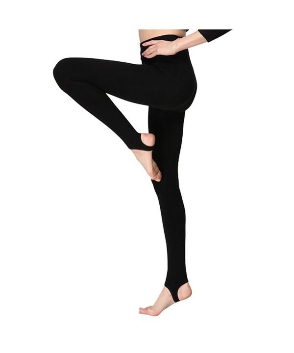INCHER Velvet Leggings Elastic Slimming