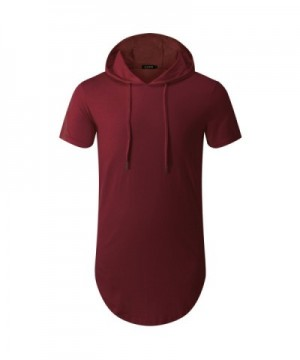 OLRIK Hipster Longline T shirt Zipper