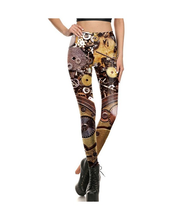 Stylish Digital Printed Stretchy Leggings
