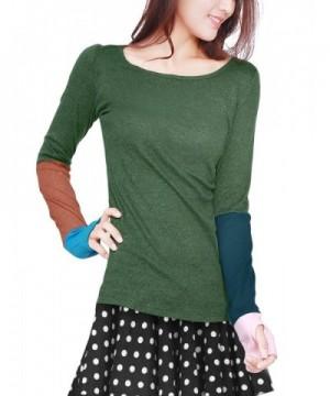 Allegra Women Color Block Sleeve
