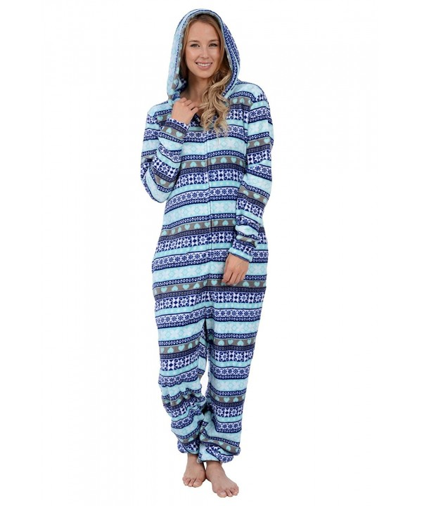 Body Candy Womens Fleece Onesies