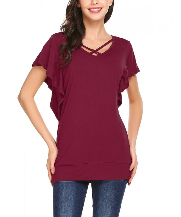 Venena Womens Casual Sleeve T Shirt