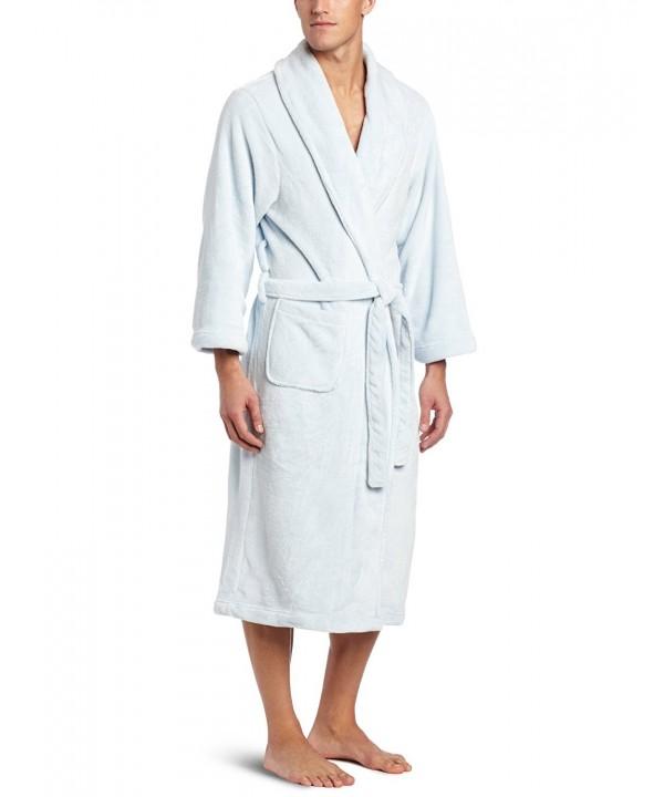 Spa Long Sleeve Robe - Spa Blue - C1115OZC7L3 916505fa5