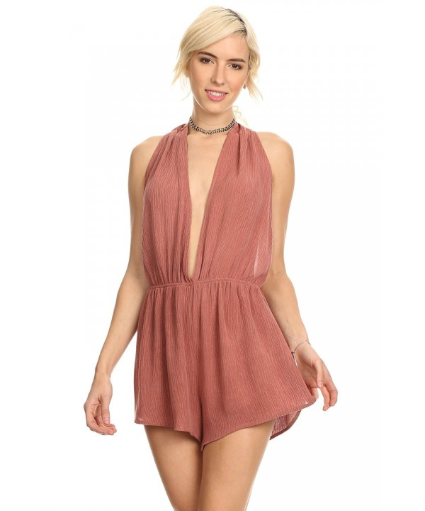 MeshMe Womens Jeane Valentines Plunging