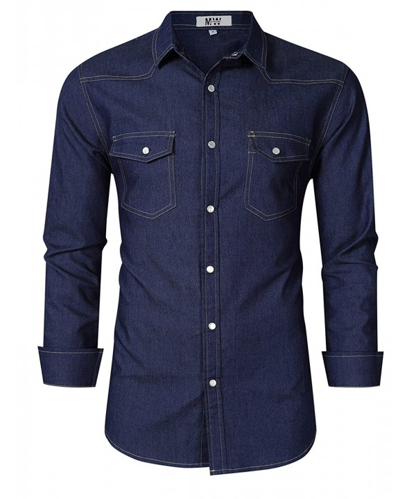 MrWonder Casual Button Shirts Western