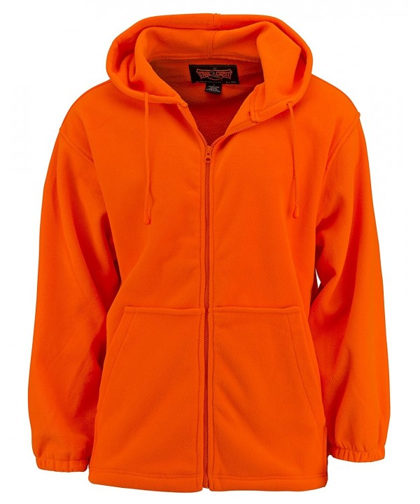 Trailcrest Fleece Blaze Orange Hoody
