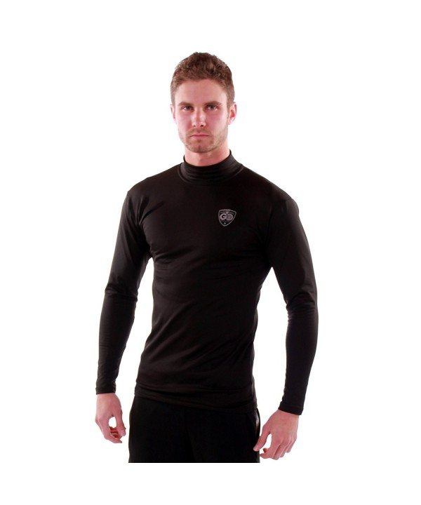 Go Athletic Apparel Weather Neck Black XXL