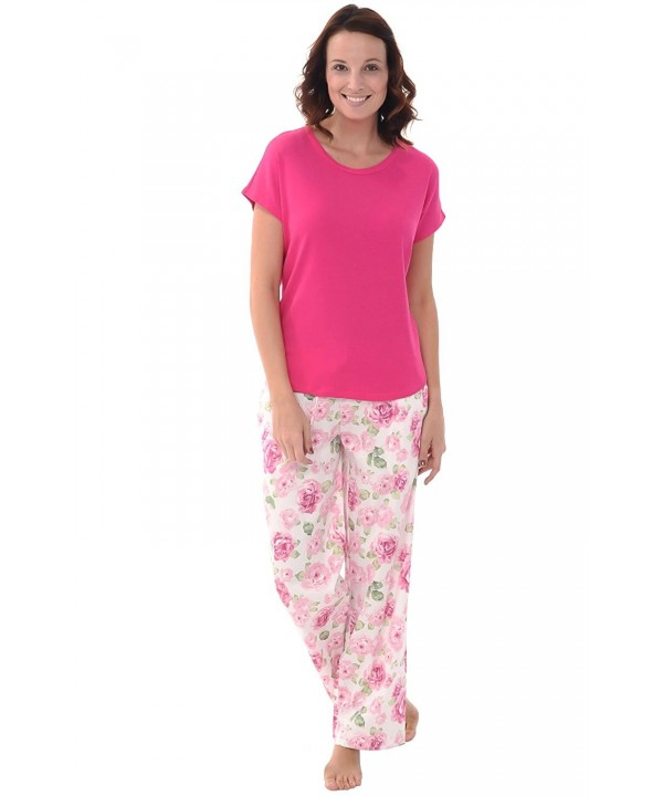 2d5dd59002 Women s EcoFabric Full Length Pajama Set - Long Sleeve with Gift Box ...