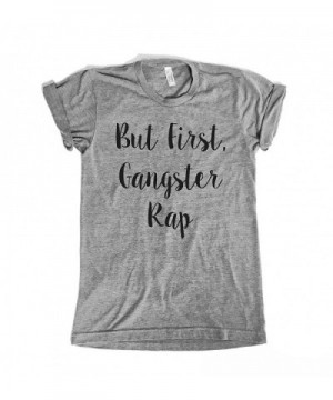 First Gangster Unisex Shirt Medium